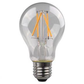 Eurolamp LED Λάμπα Κοινή A60 Crossed Filament 4.5W E27 Clear