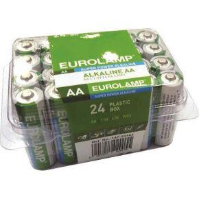 Eurolamp Μπαταρία Αλκαλική 1.5V AA LR6 24pcs 2400mAh