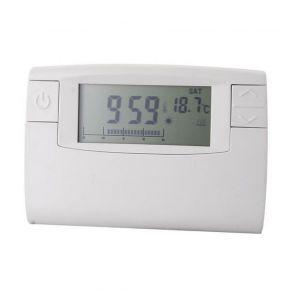 Eurolamp Θερμοστάτης Χώρου Εβδομαδιαίος 24 Ωρών Ηλεκτρονικός 1380W IP20