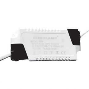 Eurolamp Τροφοδοτικό Για LED Slim Panel 20W 85-265V 300MA
