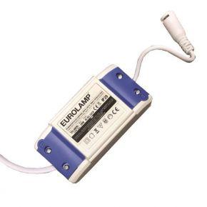 Eurolamp Τροφοδοτικό Για LED Slim Panel 20W 85-265V AC 300MA