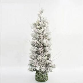 Eurolamp Χριστουγεννιάτικο Δέντρο Χιονισμένο 1.4m