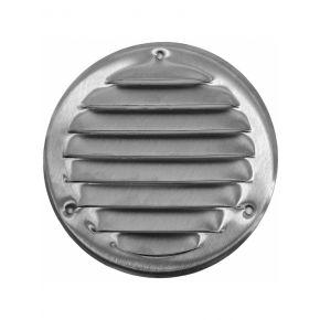 Europlast Inox Περσίδα Εξαεριστήρα Με Πλέγμα Αποτροπής Εντόμων