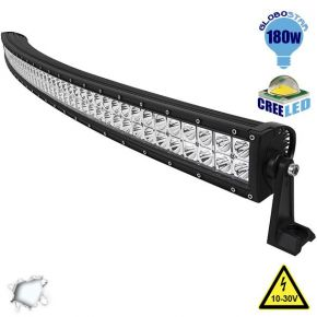 Μπάρα LED Curved 180W CREE Combo 10-30v DC Ψυχρό Λευκό
