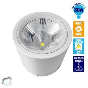 LED Φωτιστικό Spot οροφής Down Light 30 Watt Ψυχρό Λευκό