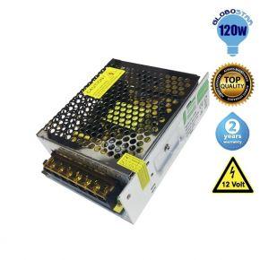 Τροφοδοτικό Globostar 120 Watt 12 Volt DC Ρυθμιζόμενο