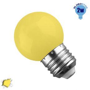 Mini Γλόμπος LED G45 2 Watt Κίτρινο