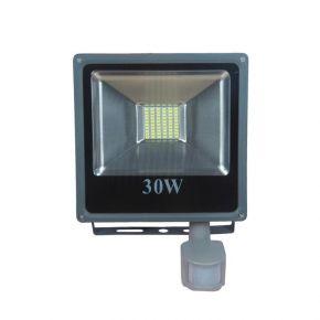 Ferrara LED Προβολέας Με Ανιχνευτή Κίνησης 30W SMD IP65