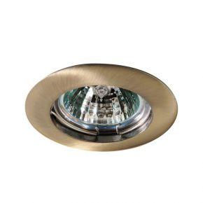 Eurolamp Spot Χωνευτό Στρογγυλό Αλουμινίου Σταθερό MR16 33W IP20