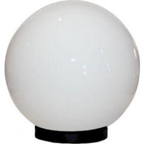 Eurolamp Απλίκα Πλαστική PMMA Γάλακτος Ø20cm