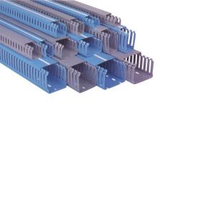 Eurolamp Κανάλι Πλαστικό 80x60mm Διατρητό TPS IP40 2m
