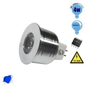 Σποτάκι LED MR11 4 Watt 10-30 Volt Μπλε