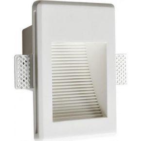 ACA Γύψινο Φωτιστικό Χωνευτό EVE LED 1.5W