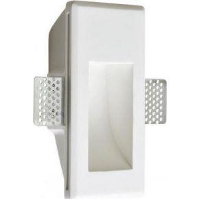 ACA Γύψινο Φωτιστικό Χωνευτό BELEN LED 1.5W