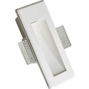 ACA Γύψινο Φωτιστικό Χωνευτό MYLA LED 1.5W