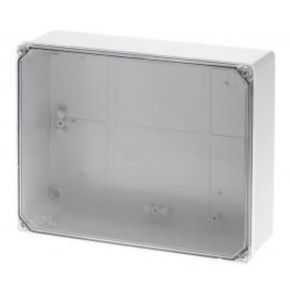 GEROS Κουτί Χωρίς Στυπιοθλίπτες Με Διάφανο Καπάκι IP65