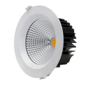 GEYER Φωτιστικό LED Downlight 18W Χωνευτό 60°
