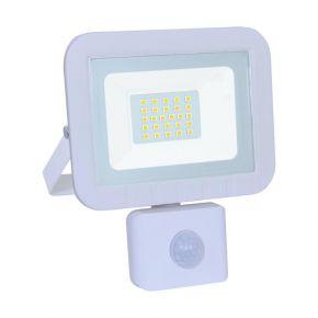 GEYER LED Προβολέας Λευκός 20W 1700lm Με Αισθητήρα Κίνησης
