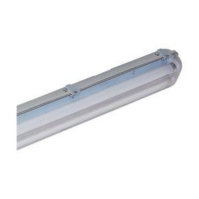 GEYER Σκαφάκι Για Λάμπα LED Τ8 2x1.2m IP65