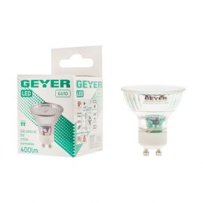 GEYER LED Λάμπα 5W GU10 A+ Glass