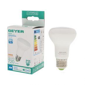 GEYER LED Λάμπα Eco R63 8W E27