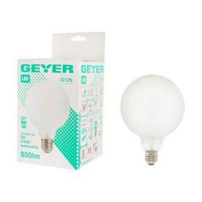 GEYER LED Λάμπα Filament Γλόμπος G125 8W E27
