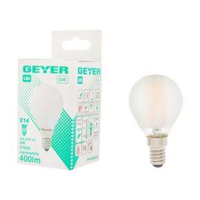 GEYER LED Λάμπα Filament Σφαιρική 4W E14