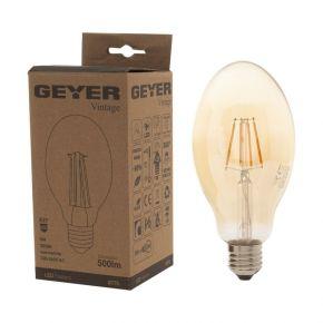 GEYER LED Λάμπα Filament Vintage BT75 6W E27