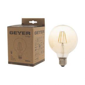 GEYER LED Λάμπα Filament Vintage Γλόμπος G95 6W E27