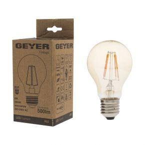 GEYER LED Λάμπα Filament Vintage Κλασσική 6W E27