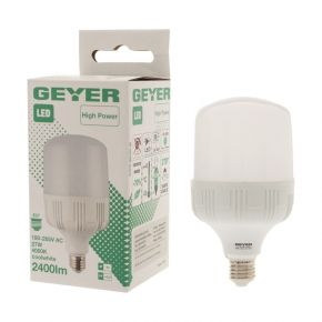 GEYER LED Λάμπα High Power Premium IM-PLA27 27W E27 IP44