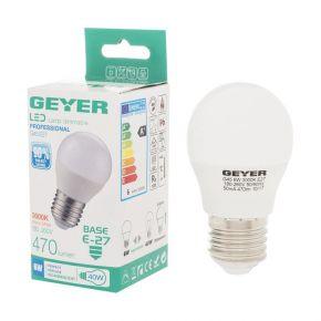 GEYER LED Λάμπα Σφαιρική G45 6W E27