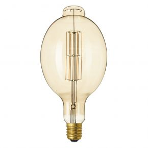 Calex GIANT SERIES LED Λάμπα 11W Filament E40 Φ180mm Dimmable Colosseum Gold