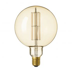 Calex GIANT SERIES LED Λάμπα 11W Filament E40 Φ200mm Dimmable Megaglobe Gold