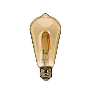 Xanlite LED Λάμπα 4W E27 ST64 Vintage Filament