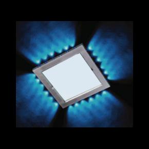 ACA LED Χωνευτό Spot Οροφής 20W Dip 24xBlue CASAM