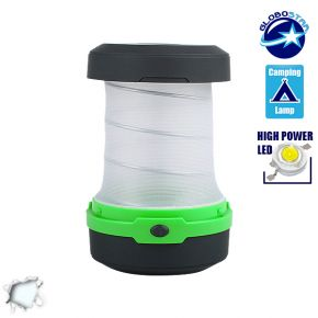 Mini Πτυσσόμενο Φανάρι LED Κάμπινγκ 1 Watt
