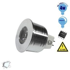 Σποτάκι LED MR11 4 Watt 10-30 Volt Ψυχρό Λευκό