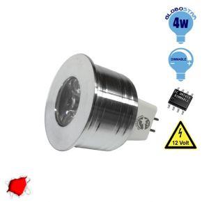 Σποτάκι LED MR11 4 Watt 10-30 Volt Κόκκινο