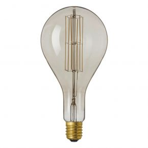 Calex GIANT SERIES LED Λάμπα 11W Filament E40 Φ160mm Dimmable GREY