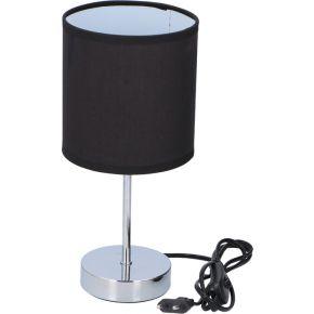 Grundig Επιτραπέζιο Φωτιστικό Με Ντουί Ε14 Μαύρο