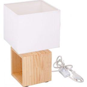 Grundig Επιτραπέζιο Φωτιστικό Ξύλινο Ε14