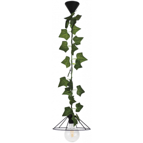 Heronia Κρεμαστό Φωτιστικό 1xE27 Vintage Μεταλλικό Με Φύλλα Κισσού FUN-350/24 EDEM