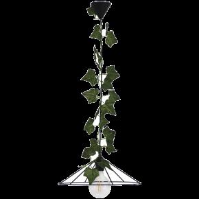 Heronia Κρεμαστό Φωτιστικό 1xE27 Vintage Μεταλλικό Με Φύλλα Κισσού FUN-350/36 EDEM