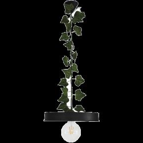 Heronia Κρεμαστό Φωτιστικό 1xE27 Μεταλλικό Με Φύλλα Κισσού LM-310 EDEM