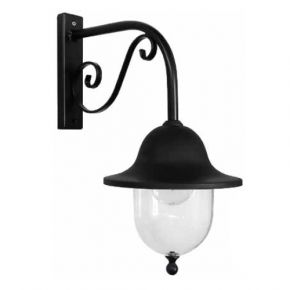 Heronia LED Φωτιστικό Απλίκα Τοίχου W90-801 BLACK 25W E27
