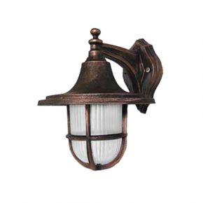 Heronia LED Πλαστική Απλίκα Τοίχου 11W E27 Φανάρι LP-700AN IP23