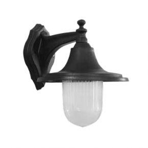 Heronia LED Πλαστική Απλίκα Τοίχου 11W E27 Φανάρι LP-730AN IP23