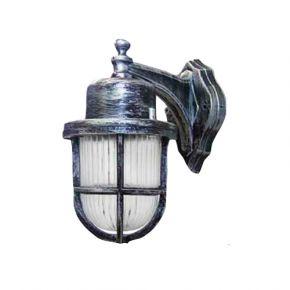 Heronia LED Πλαστική Απλίκα Τοίχου 11W E27 Φανάρι SLP-500B IP23