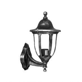 Heronia LED Πλαστική Απλίκα Τοίχου 15W E27 Φανάρι LP-500AN IP23